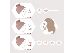 日系医美宣传海报