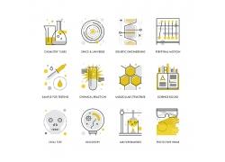 实验室图表图标