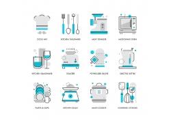 厨房用品图标UI素材