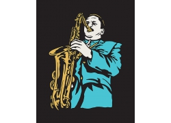 复古音乐海报