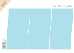 清新简洁影楼相册写真相册排版设计模板图片