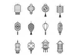各种各样的灯笼