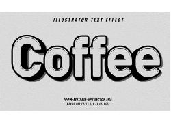 创意个性英文主题立体字体样式设计