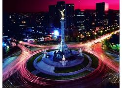 墨西哥城市夜景