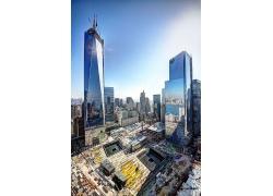 世界貿易中心城市景色