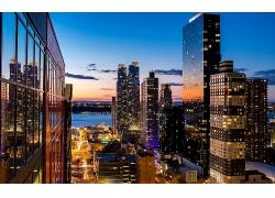 紐約市金融中心