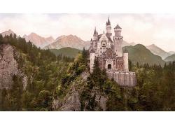 山頂上的城堡