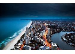 澳大利亞唯美的城市港灣