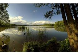 河流湖泊风景壁纸
