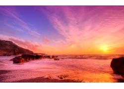 海滩风景壁纸