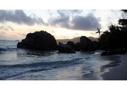 海滩摄影风景壁纸