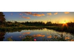 湖泊风景壁纸