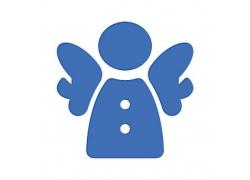 天使主题矢量UI图标LOGO设计