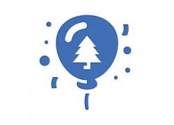 气球主题矢量UI图标LOGO设计
