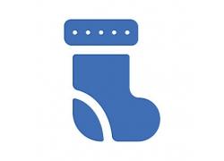 袜子主题矢量UI图标LOGO设计