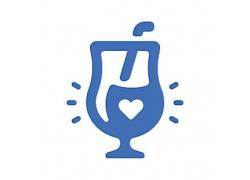 果汁主题矢量UI图标LOGO设计