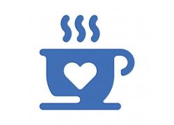 咖啡主题矢量UI图标LOGO设计