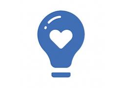 灯泡主题矢量UI图标LOGO设计