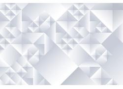 矢量白色三维立体背景