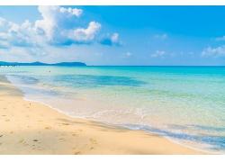 蓝色海洋美景图片