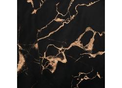 抽象不规则黑底鎏金金粉装饰背景
